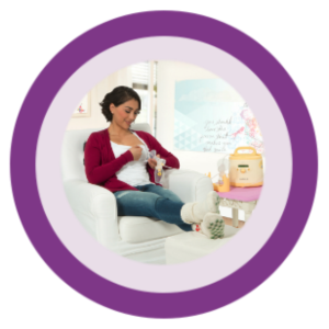 Image of a medela breast pump treating mastitis